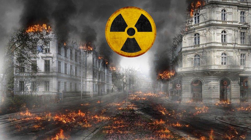 hayattta kalma, nukleer patlama, radyasyon